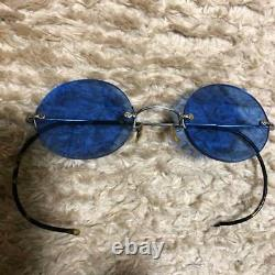 WW2 Japanese Army Military Officer Colored Sunglasses Rare Antique F/S fr Japan